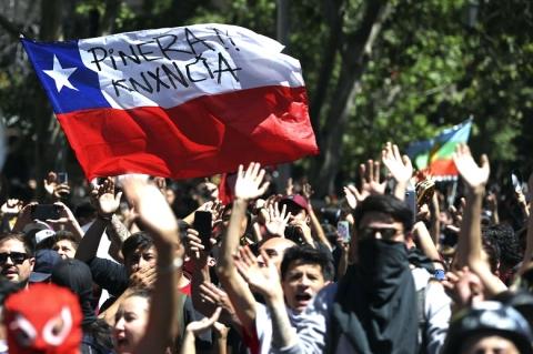 Ανακοίνωση ΝΑΡ: Αλληλεγγύη στον εξεγερμένο λαό της Χιλής!