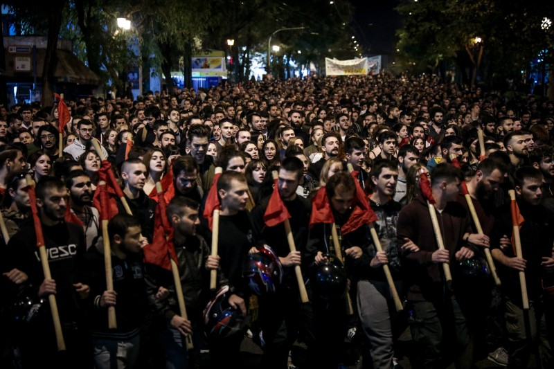 Αλληλεγγύη στους 51 αντιφασίστες συλληφθέντες