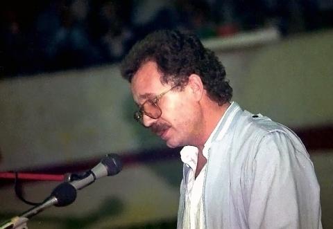 Ομιλία Γ. Γράψα, Σπόρτινγκ, Οκτώβρης 1989