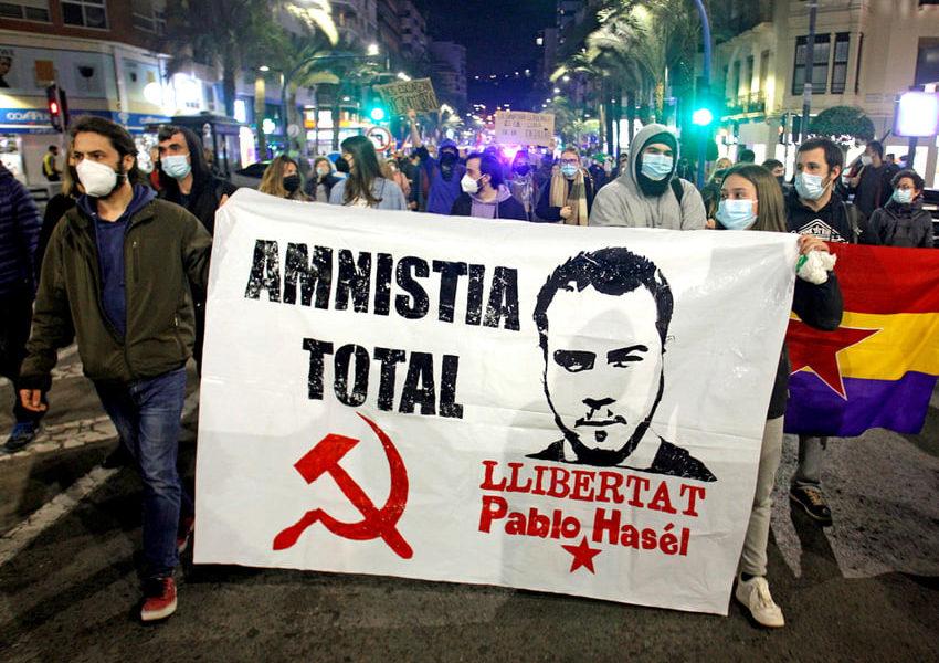 ΝΑΡ: Αλληλεγγύη στον φυλακισμένο στην Ισπανία μουσικό Πάμπλο Χασέλ
