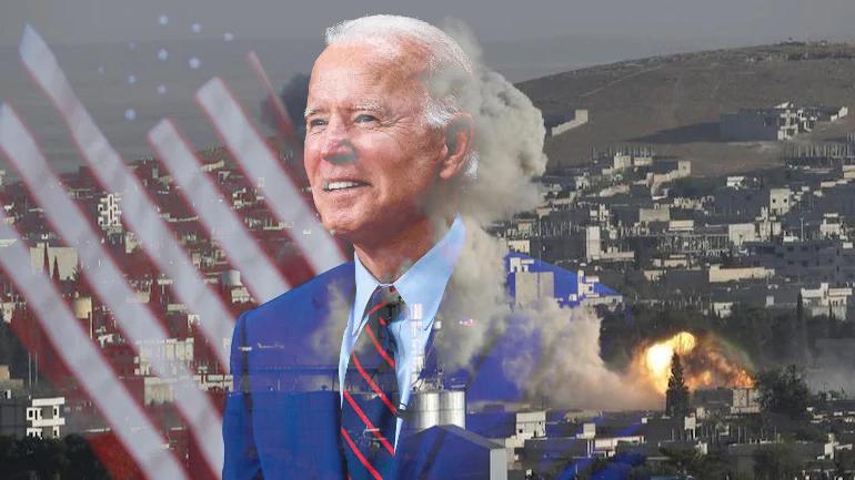 νΚΑ: Ο Μπάιντεν βομβαρδίζει τη Συρία… γιατί ο καπιταλισμός δεν έχει ανθρώπινο πρόσωπο